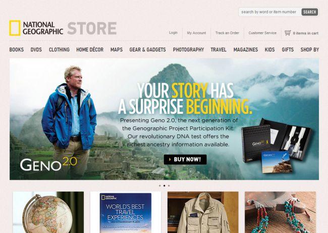 Интернет-магазин Nationalgeographic.com