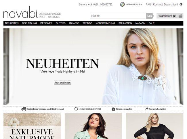 Интернет-магазин Navabi.de