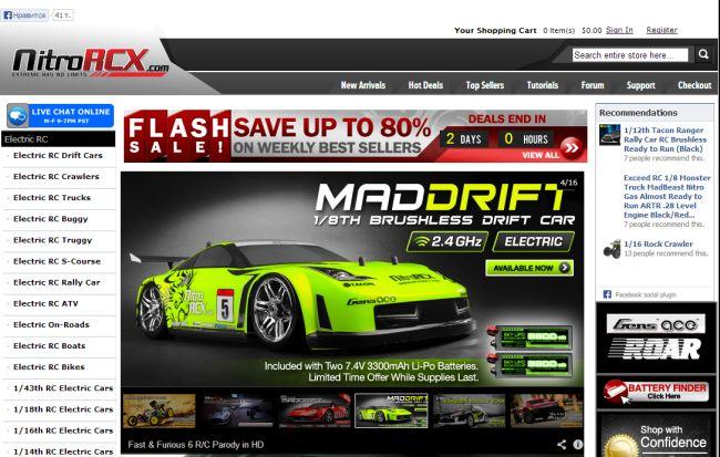 Интернет-магазин Nitrorcx.com