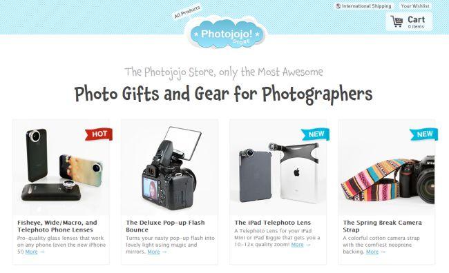 Интернет-магазин Photojojo.com