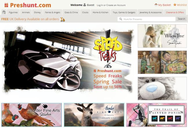 Интернет-магазин Preshunt.com