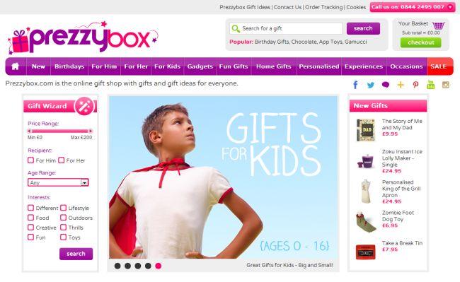 Интернет-магазины Prezzybox.com