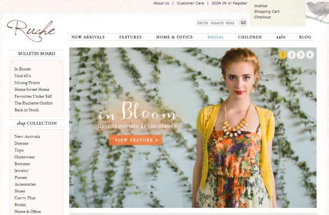 Интернет-магазин Shopruche.com