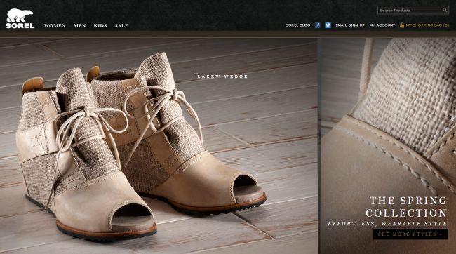Интернет-магазин Sorel.com