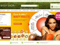 Интернет-магазин Thebodyshop.co.uk