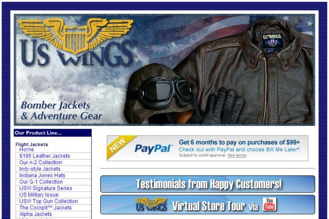 Интернет-магазин Uswings.com