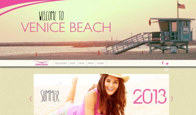 Интернет-магазин Venice-beach.com