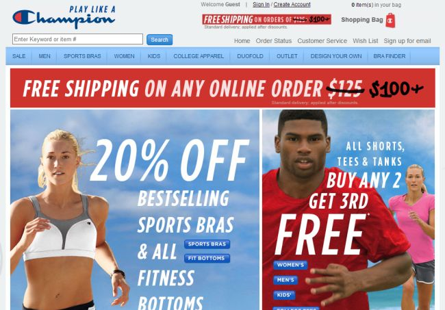 Интернет-магазин Championusa.com