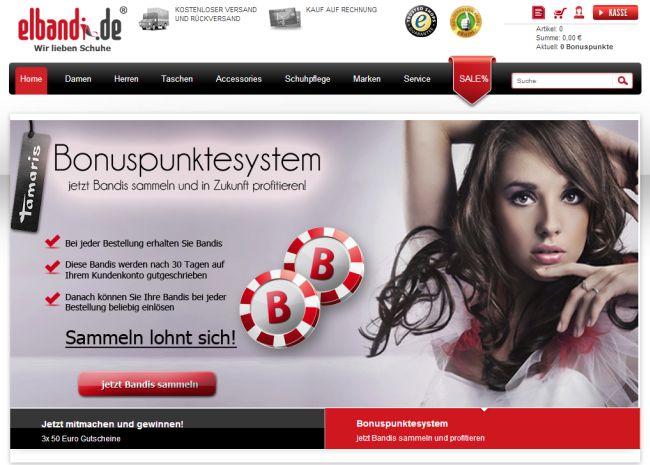 Интернет-магазин Elbandi.de