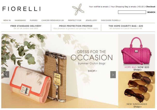 Интернет-магазин Fiorelli.com