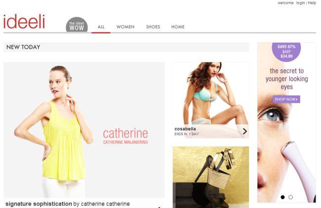 Интернет-магазин Ideeli.com