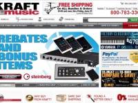 Интернет-магазин Kraftmusic.com