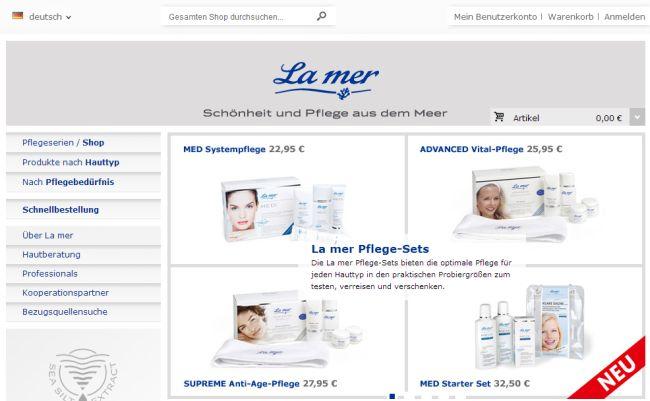 Интернет-магазин La-mer.com