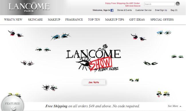 Интернет-магазин Lancome-usa.com
