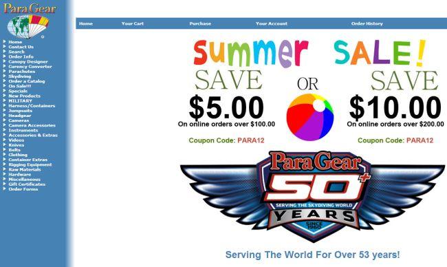 Интернет-магазин Paragear.com