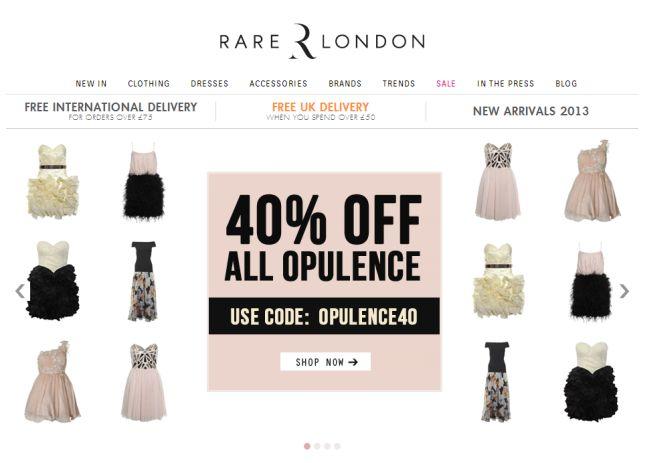 Интернет-магазин Rarelondon.com