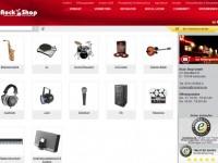 Интернет-магазин Rockshop.de