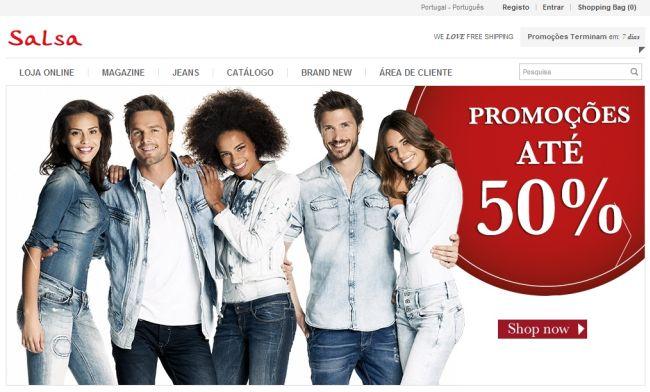 Интернет-магазин Salsajeans.com