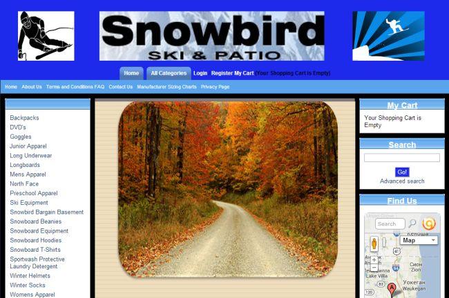 Интернет-магазин Shopsnowbirdski.com