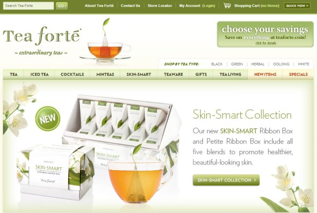 Интернет-магазин Teaforte.com