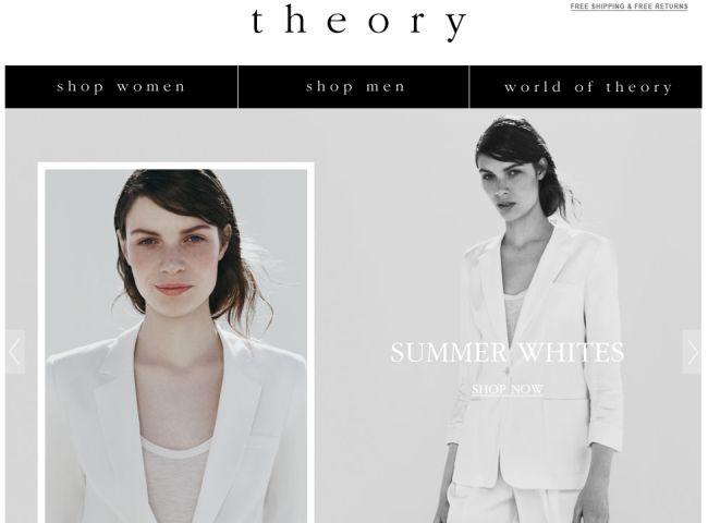 Интернет-магазин Theory.com