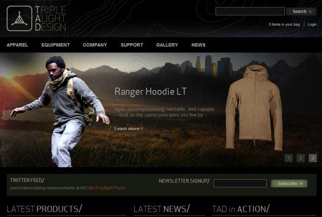 Интернет-магазин Tripleaughtdesign.com
