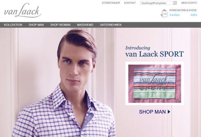 Интернет-магазин Vanlaack.de