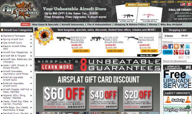Интернет-магазин Airsplat.com