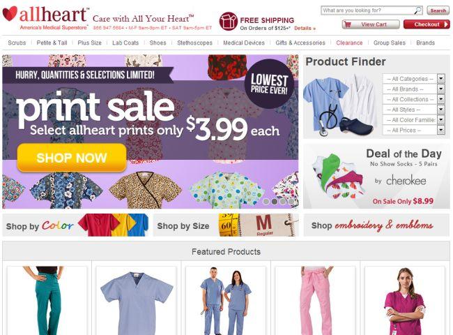 Интернет-магазин Allheart.com