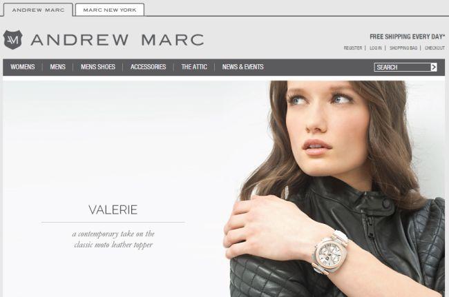 Интернет-магазин Andrewmarc.com