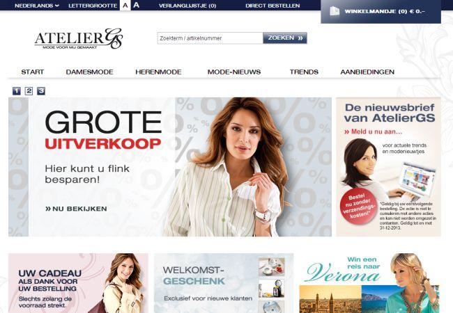 Интернет-магазин Ateliergs.be