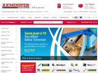 Интернет-магазин Axminster.co.uk