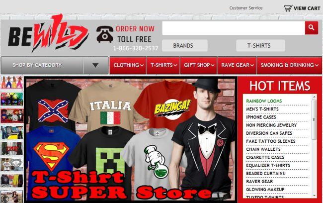 Интернет-магазин Bewild.com
