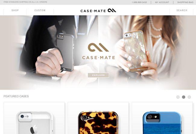 Интернет-магазин Case-mate.com