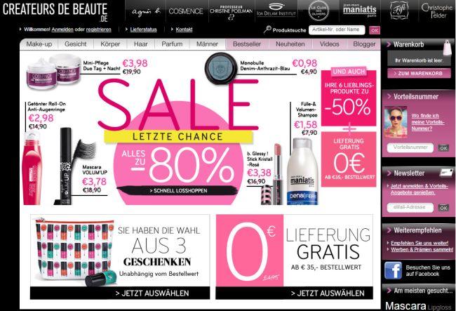 Интернет-магазин Ccbparis.de