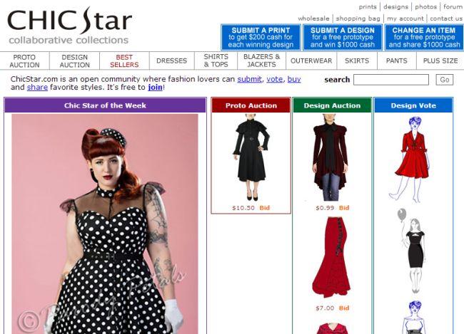 Интернет-магазин Chicstar.com