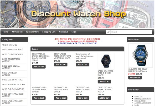 Интернет-магазин Discount-watch-shop.com