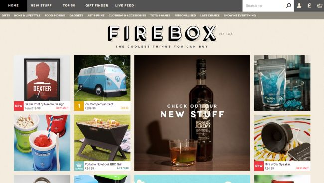 Интернет-магазин Firebox.com