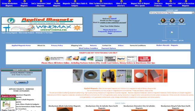 Интернет-магазин Magnet4less.com