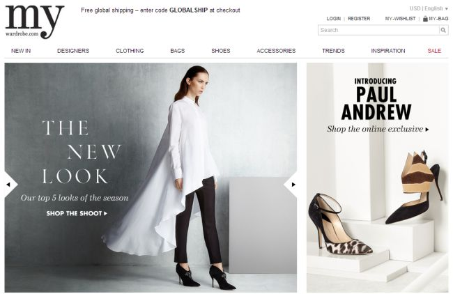 Интернет-магазин My-wardrobe.com