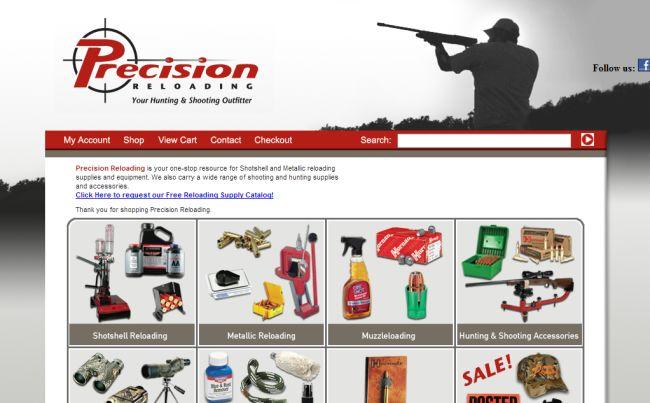 Интернет-магазин Precisionreloading.com