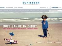 Интернет-магазин Schiesser.com