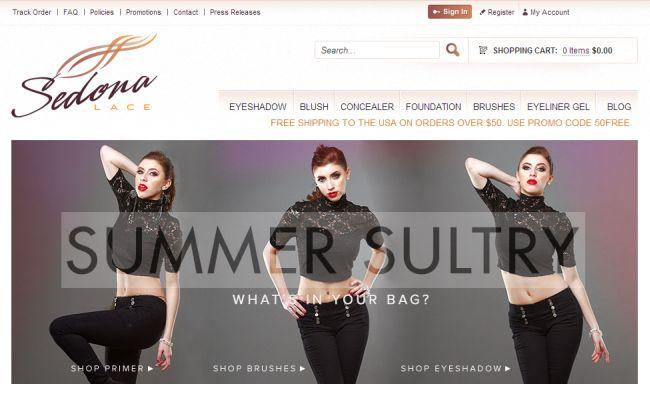 Интернет-магазин Sedonalace.com