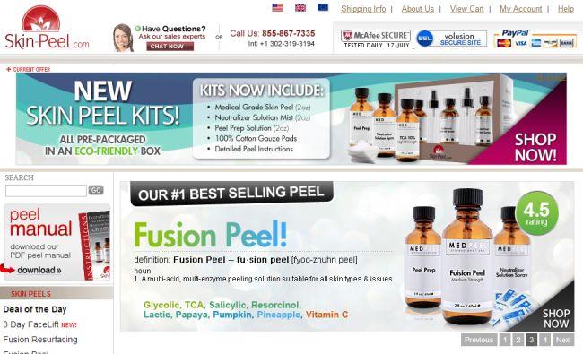 Интернет-магазин Skin-peel.com
