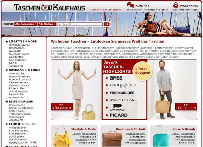 Интернет-магазин Taschenkaufhaus.de