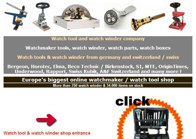 Интернет-магазин Watch-tool.de