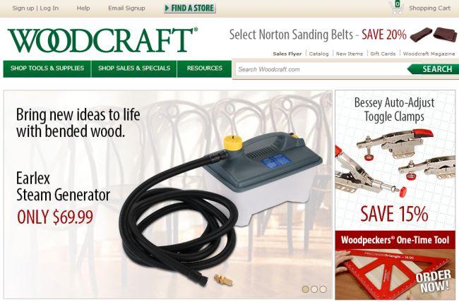 Интернет-магазин Woodcraft.com