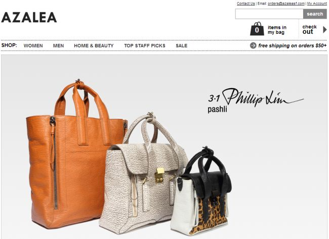 Интернет-магазин Azaleasf.com
