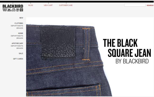 Интернет-магазин Blackbirdballard.com