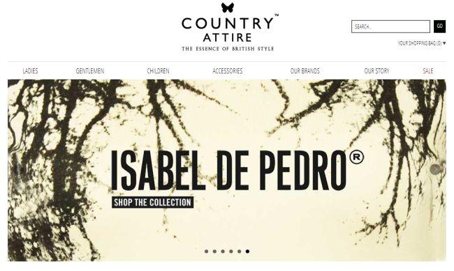 Интернет-магазин Countryattire.com